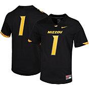 Nike Men's Missouri Tigers #1 Dri-FIT Game Football Black Jersey
