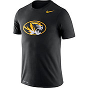 Nike Men's Missouri Tigers Logo Dry Legend Black T-Shirt