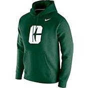 Nike Men's Charlotte 49ers Green Club Fleece Pullover Hoodie