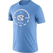 Jordan Men's North Carolina Tar Heels Carolina Blue Legend Basketball Key T-Shirt