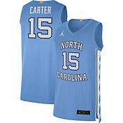 Jordan Men's Vince Carter North Carolina Tar Heels #15 Carolina Blue Limited Basketball Jersey