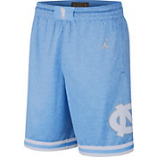 Jordan Men's North Carolina Tar Heels Carolina Blue Limited 100 Year Anniversary Rivalry Basketball Shorts