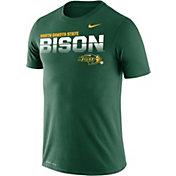 Nike Men's North Dakota State Bison Green Legend Football Sideline T-Shirt