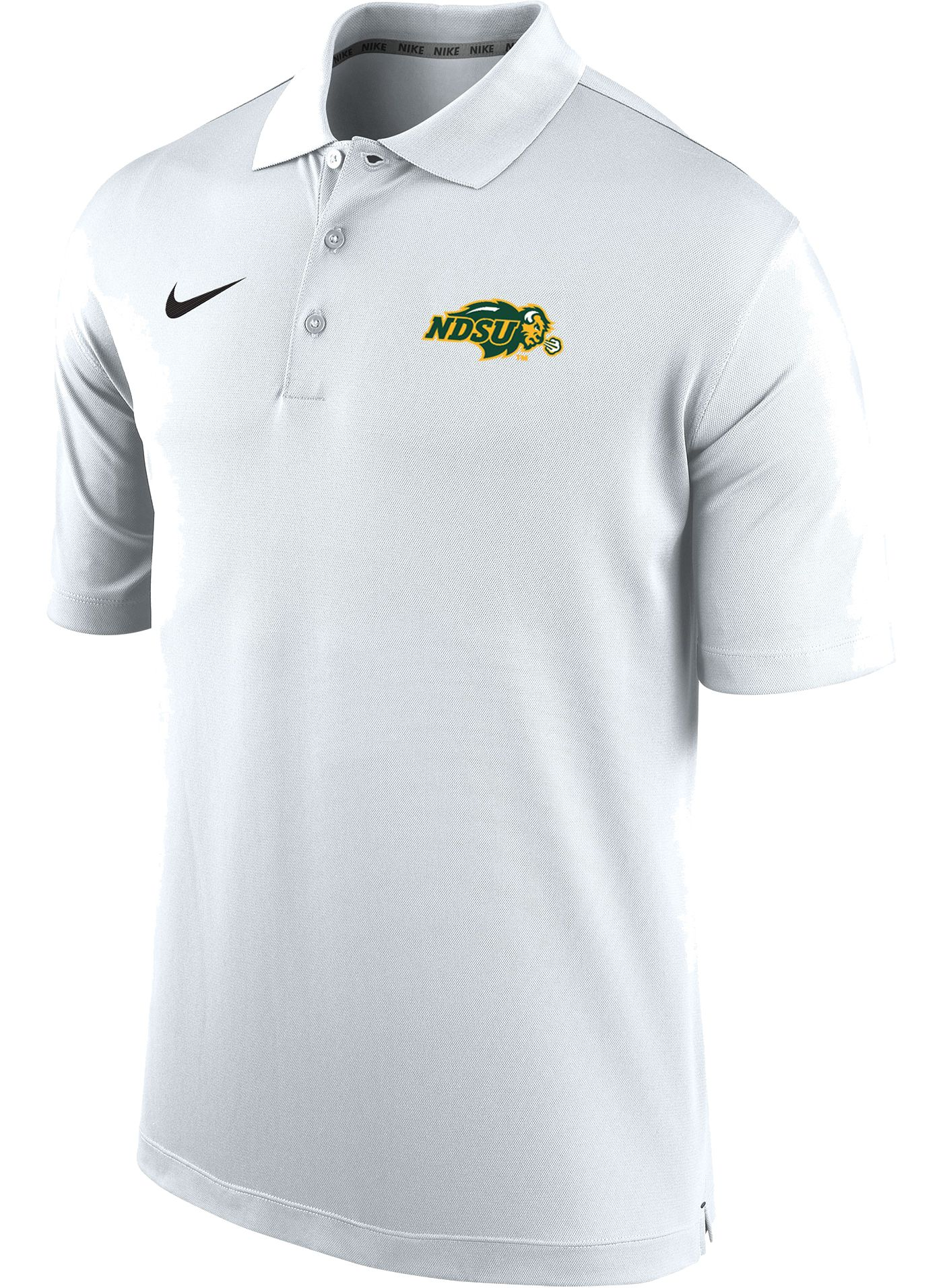 Nike Men's North Dakota State Bison Varsity White Polo