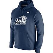 Nike Men's New Hampshire Wildcats Blue Club Fleece Pullover Hoodie