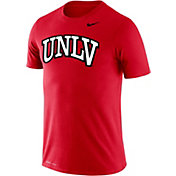Nike Men's UNLV Rebels Scarlet Logo Dry Legend T-Shirt
