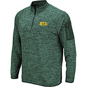 Colosseum Men's Norfolk State Spartans Green Quarter-Zip Shirt