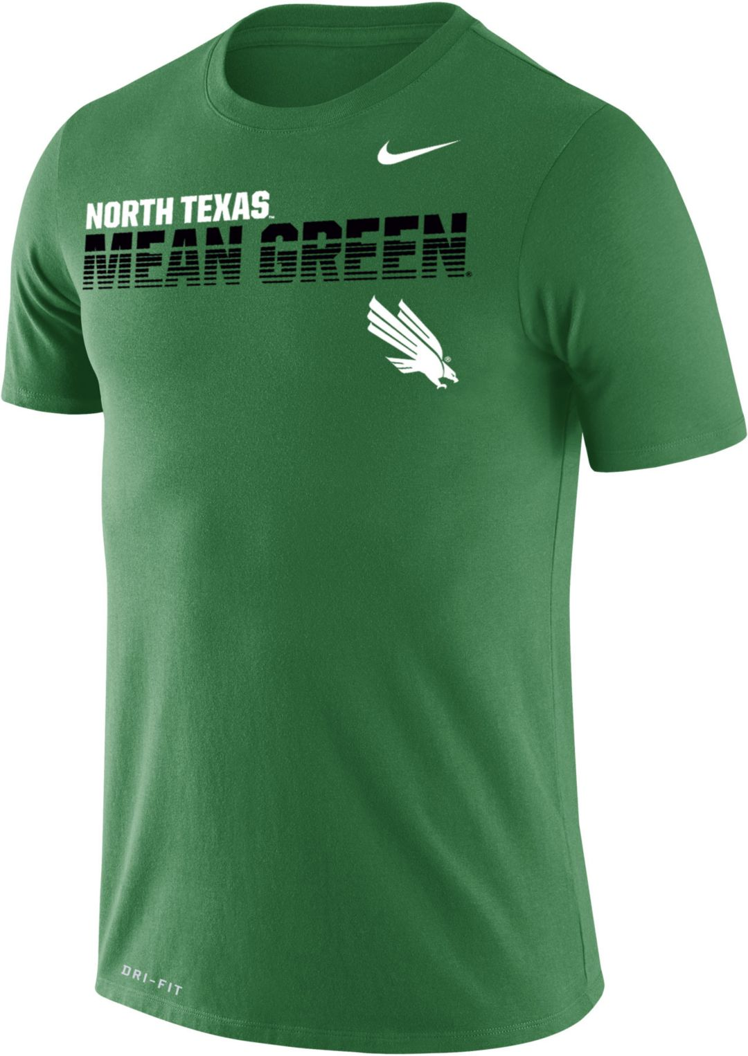 newest 5cb13 d84ca Nike Men's North Texas Mean Green Green Legend Football Sideline T-Shirt