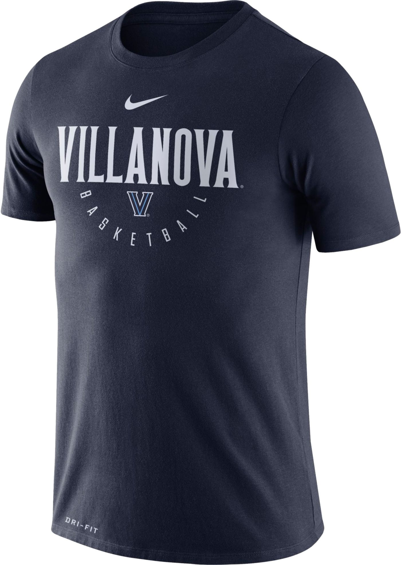 Nike Men's Villanova Wildcats Navy Basketball Legend T-Shirt
