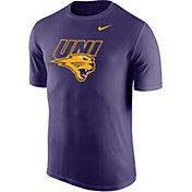 Nike Men's Northern Iowa Panthers  Purple Logo Dry Legend T-Shirt