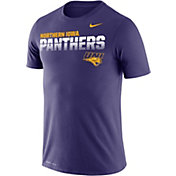 Nike Men's Northern Iowa Panthers  Purple Legend Football Sideline T-Shirt