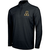 Nike Men's Appalachian State Mountaineers Intensity Quarter-Zip Black Shirt