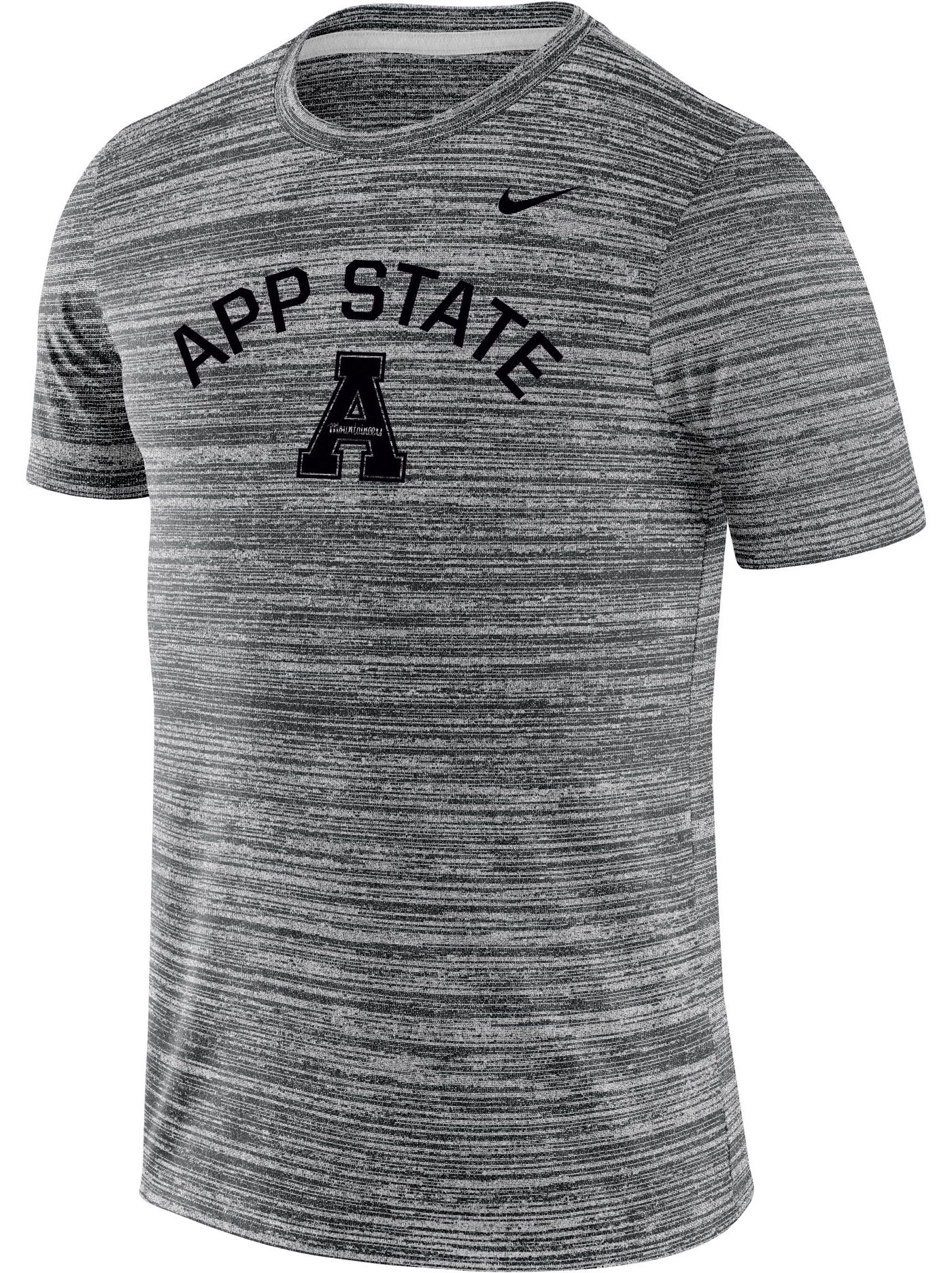 Nike Men's Appalachian State Mountaineers Grey Velocity Legend T-Shirt