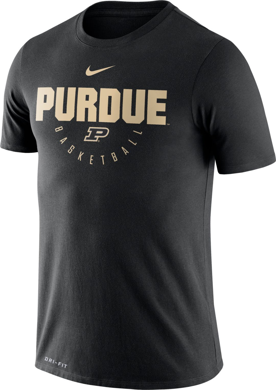 3c9745e7 Nike Men's Purdue Boilermakers Basketball Legend Black T-Shirt ...