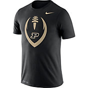 Nike Men's Purdue Boilermakers Legend Football Icon Black T-Shirt