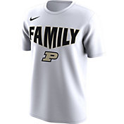 Nike Men's Purdue Boilermakers 'Family' Bench White T-Shirt