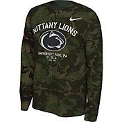 Nike Men's Penn State Nittany Lions Camo Veteran Long Sleeve T-Shirt
