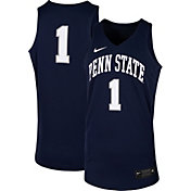 Nike Men's Penn State Nittany Lions #1 Blue Replica Basketball Jersey