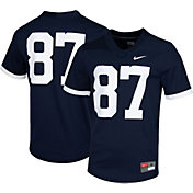 Nike Men's Penn State Nittany Lions #87 Blue Dri-FIT Game Football Jersey