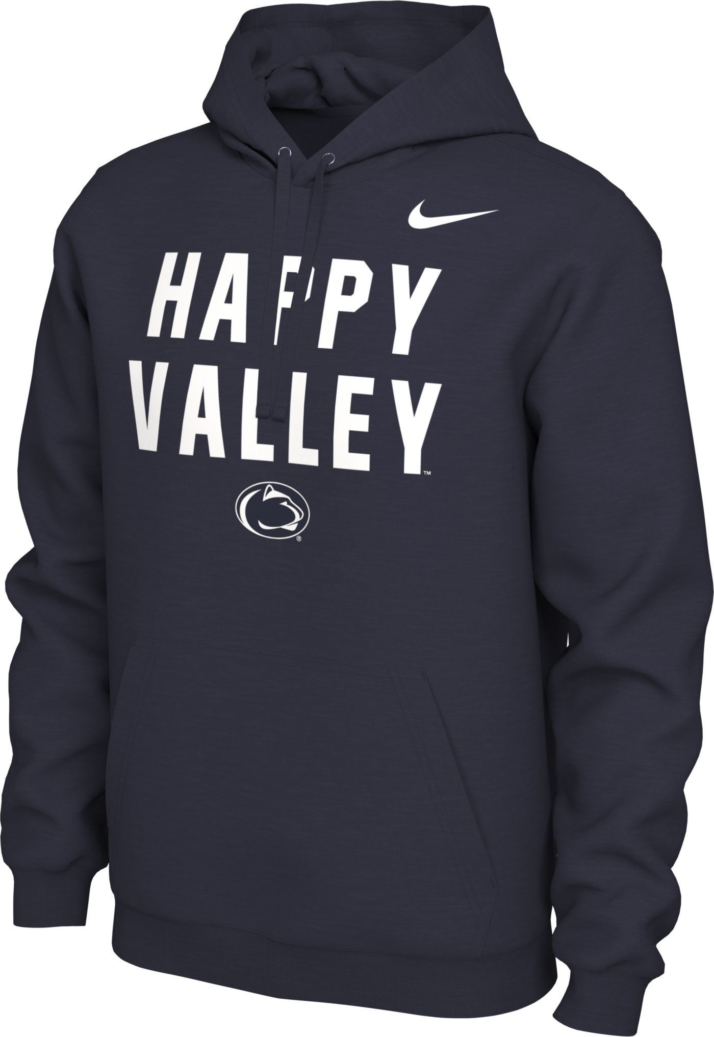Nike Men's Penn State Nittany Lions Blue 'Happy Valley' Local Pullover Hoodie