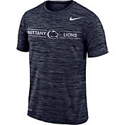 Nike Men's Penn State Nittany Lions Blue Velocity Football T-Shirt