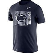 Nike Men's Penn State Nittany Lions Blue Team Issue Logo Football T-Shirt