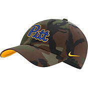 Nike Men's Pitt Panthers Camo Heritage86 Adjustable Hat