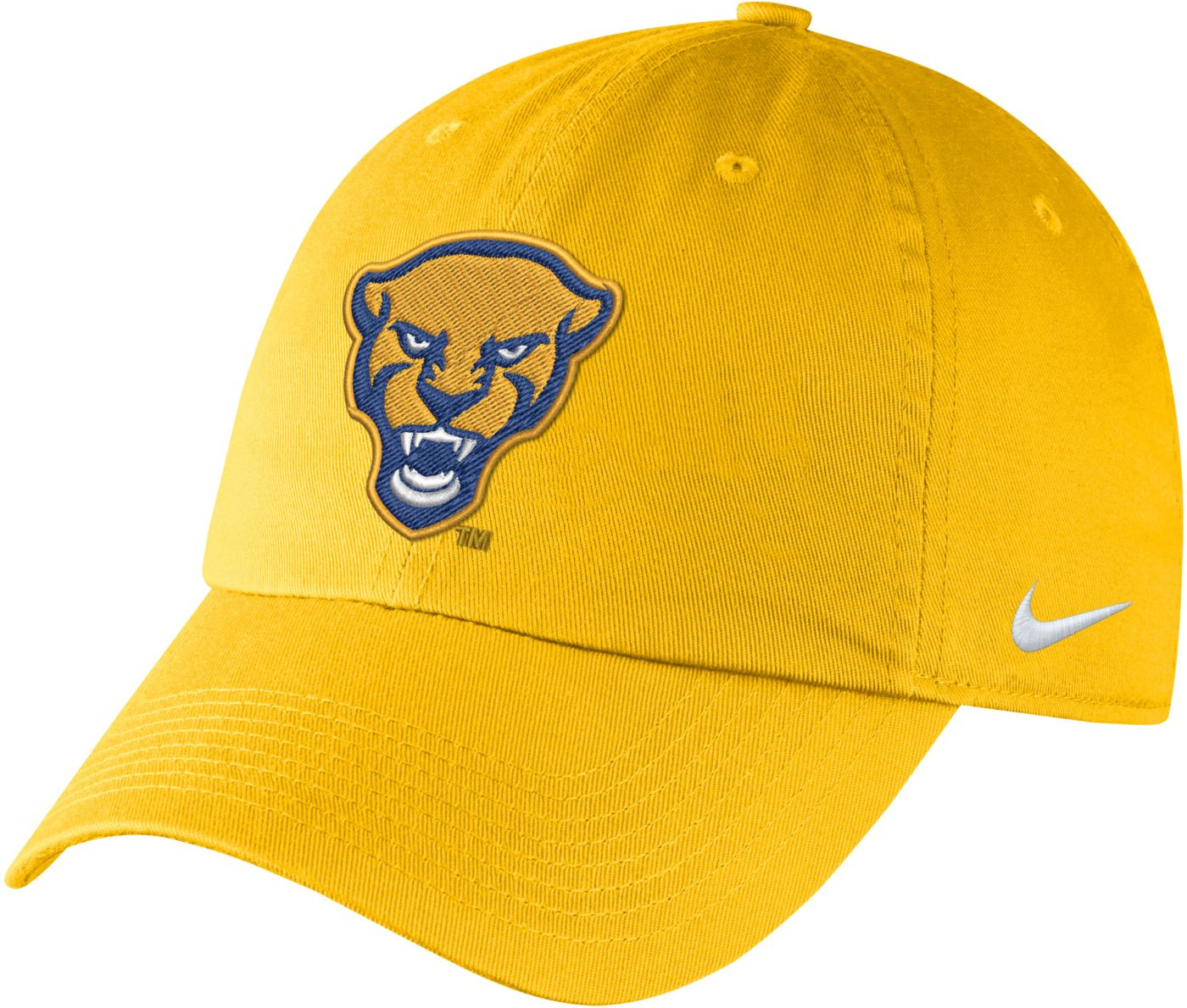 Nike Men's Pitt Panthers Gold Unstructured Adjustable Hat
