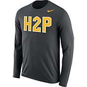 e77c61e554d3 Product Image · Nike Men s Pitt Panthers Grey H2P Dri-FIT Long Sleeve T- Shirt