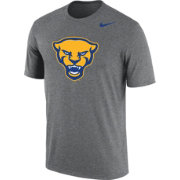 a2329b49 Nike Men's Pitt Panthers Grey Panther Head Logo Dri-FIT Cotton T-Shirt