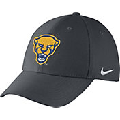 Nike Men's Pitt Panthers Grey Swoosh Flex Hat