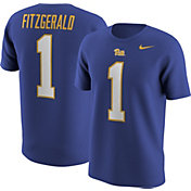 Nike Men's Pitt Panthers Larry Fitzgerald #1 Blue Football Jersey T-Shirt