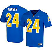 Nike Men's James Conner Pitt Panthers #24 Blue Dri-FIT Game Football Jersey