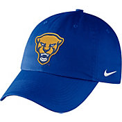 Nike Men's Pitt Panthers Blue Unstructured Adjustable Hat