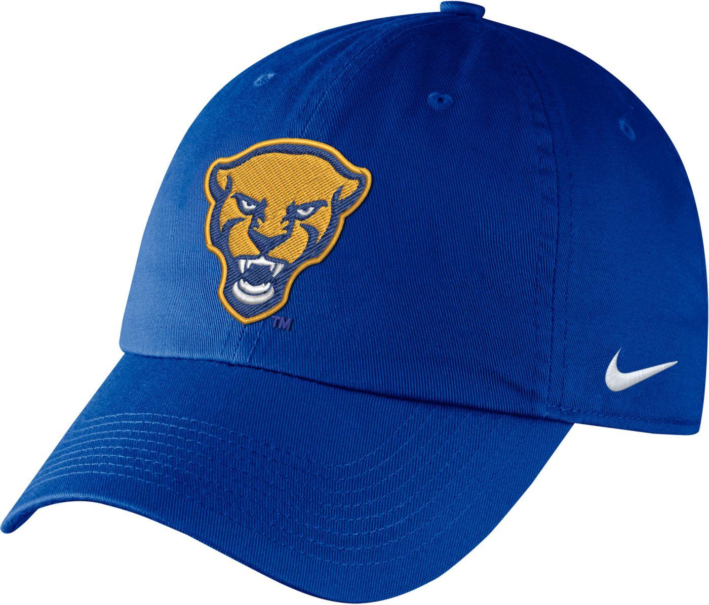 Nike Men's Pitt Panthers Blue Unstructured Adjustable Hat