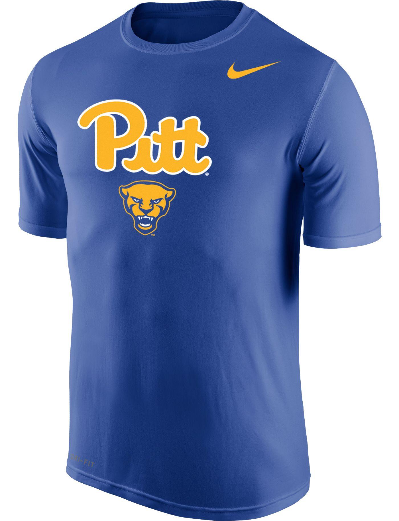 Nike Men's Pitt Panthers Blue Dri-FIT Legend 2.0 T-Shirt