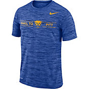 Nike Men's Pitt Panthers Blue Velocity 'Hail to Pitt' Football T-Shirt