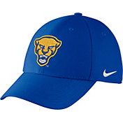 Nike Men's Pitt Panthers Blue Swoosh Flex Hat