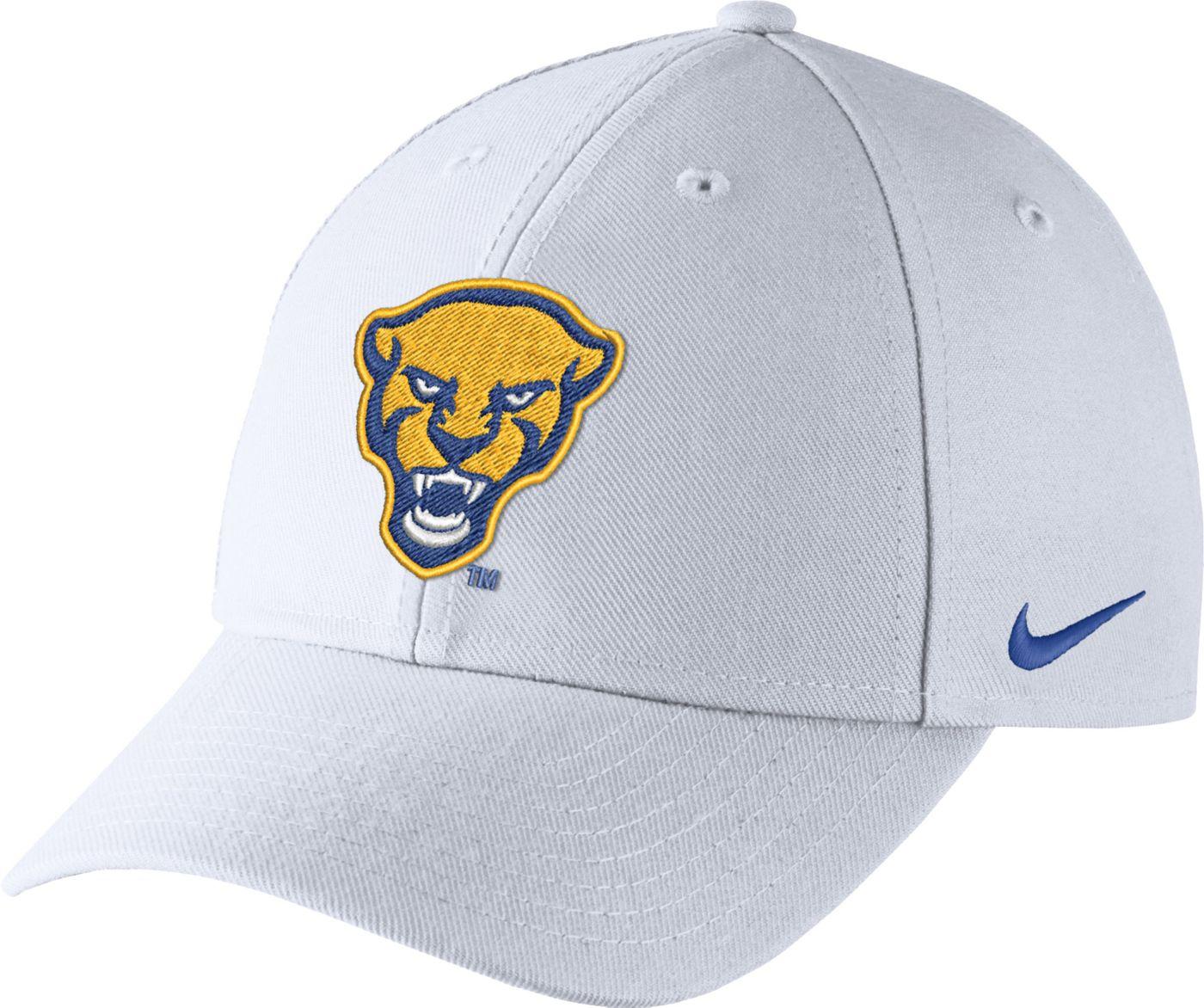 Nike Men's Pitt Panthers Dri-FIT Wool Classic White Hat