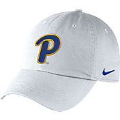 Nike Men's Pitt Panthers Unstructured Adjustable White Hat