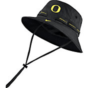 Nike Men's Oregon Ducks Black Dri-FIT Sideline Bucket Hat