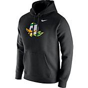 Nike Men's Oregon Ducks Club Fleece Pullover Black Hoodie
