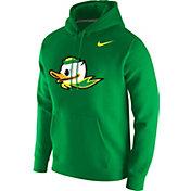 Nike Men's Oregon Ducks Green Club Fleece Pullover Hoodie