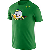 Nike Men's Oregon Ducks Green Logo Dry Legend T-Shirt