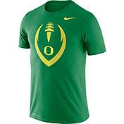 Nike Men's Oregon Ducks Green Legend Football Icon T-Shirt