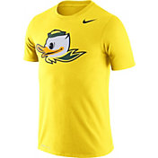 Nike Men's Oregon Ducks Yellow Logo Dry Legend T-Shirt