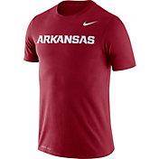 Nike Men's Arkansas Razorbacks Cardinal Dri-FIT Legend Word T-Shirt