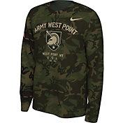 Nike Men's Army West Point Black Knights Camo Veteran Long Sleeve T-Shirt
