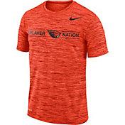 Nike Men's Oregon State Beavers Orange Velocity 'Beaver Nation' Football T-Shirt