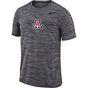 Nike Men's Arizona Wildcats Grey Velocity 'Bear Down' Football T-Shirt
